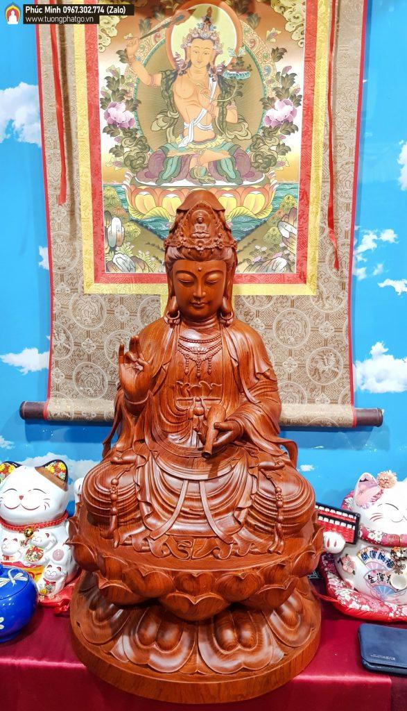 Tượng tại Phòng Trưng Bày Nghệ thuật Phật giáo tại 52, Huỳnh Đình Hai, P.14, Q. Bình Thạnh, Hồ Chí Minh